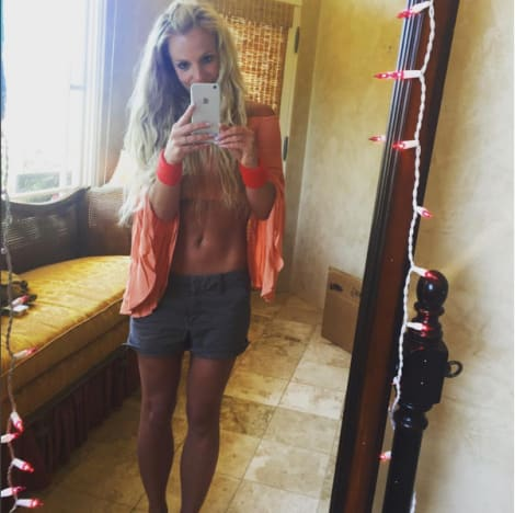 britney spears abs 2013