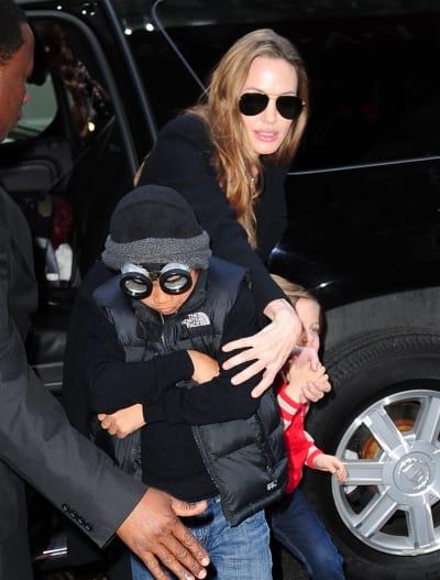 Angelina Jolie in New York