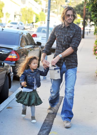 Gabriel Aubry and Nahla Pic