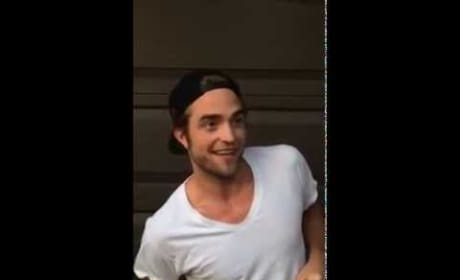 Robert Pattinson Accepts Ice Bucket Challenge