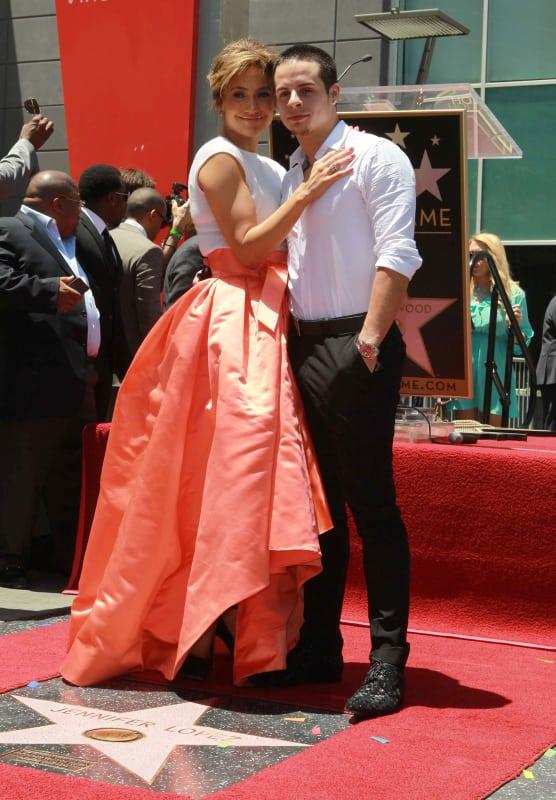 Jennifer Lopez and Casper Smart - 17 Years