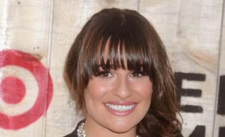 Lea Michele Smiling