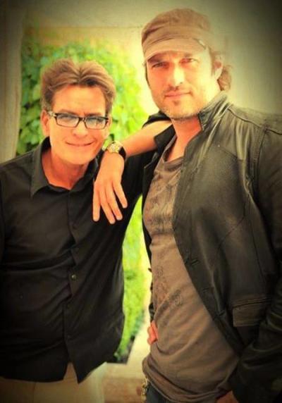 Charlie Sheen and Robert Rodriguez