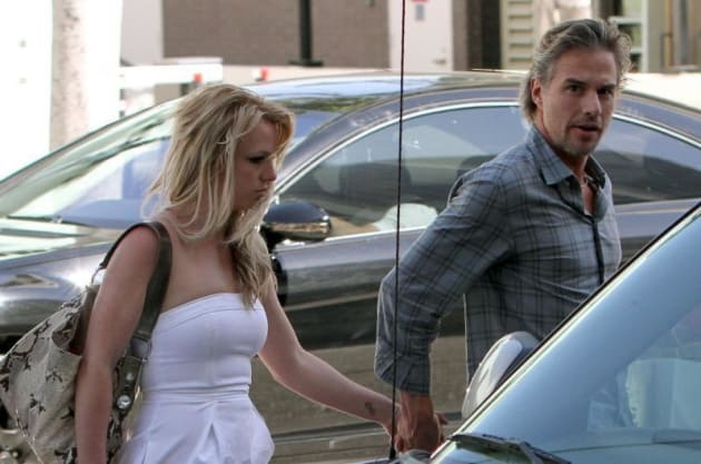 Britney, Jason Picture