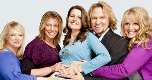 Sister Wives Cast Pic