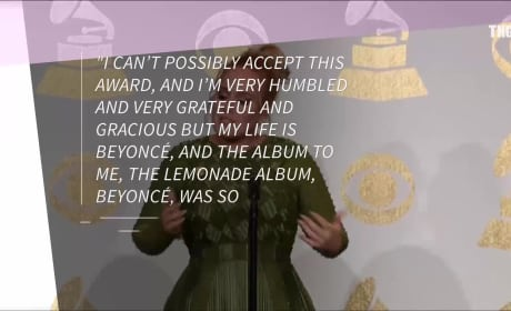2017 Grammys: Adele Honors Beyonce