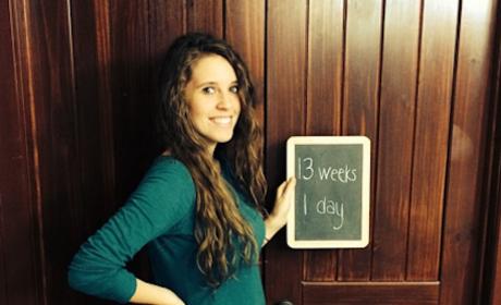 Jill Duggar Baby Bump Photo: 13 Weeks!