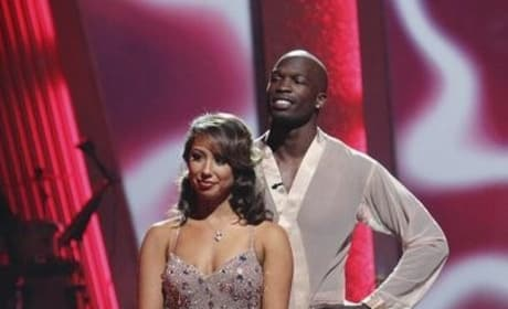 Cheryl Burke and Chad Ochocinco Photo