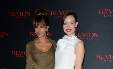 "Halle Berry and Olivia Wilde: Revlon's ""Love Is On"" Million Dollar Challenge"