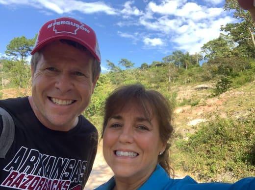 Jim Bob Duggar and Michelle Duggar in South America