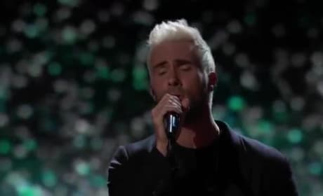 Adam Levine Pays Touching Tribute to Christina Grimmie on The Voice