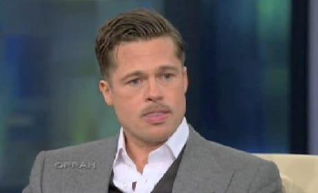 Brad Pitt on Oprah