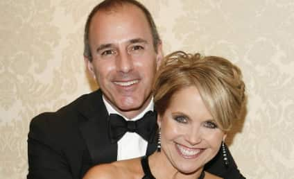 "Matt Lauer: Katie Couric ""Very Attractive"" (We're Talking 9 Out of 10 Hotness)!"