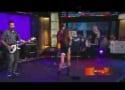 Ashley Tisdale Walks with Scott Speer, Rocks on GMA