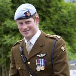 Prince Harry in Uniform