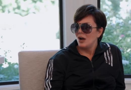 Kris Jenner Gasps in Shock