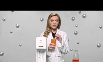 Scarlett Johansson SodaStream Commercial: Banned from the Super Bowl!