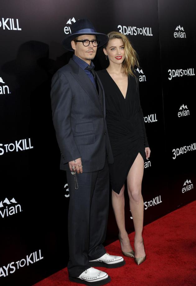Johnny Depp and Amber Heard - 23 Years
