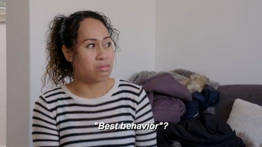 """Tammy reacts to """"Best Behavior"""""""