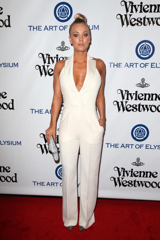 Kaley Cuoco: The Art of Elysium Presents Vivienne Westwood & Andreas Kronthaler's 2016 HEAVEN Gala
