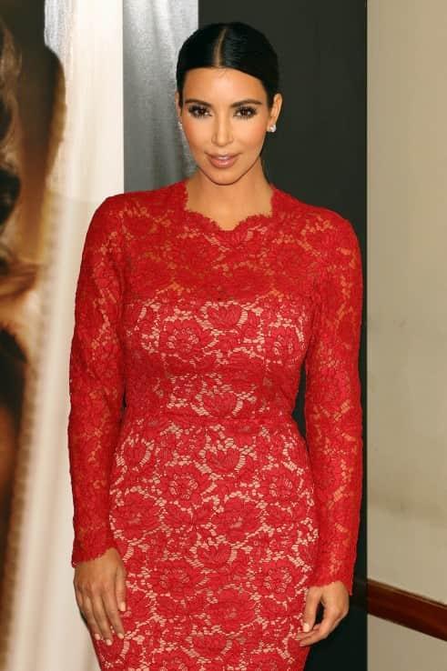 Kim Kardashian in Lace