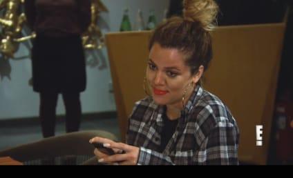 Keeping Up with the Kardashians Klip: Kim vs. Khloe!
