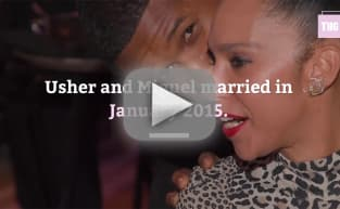 Usher and Wife: It's Over!