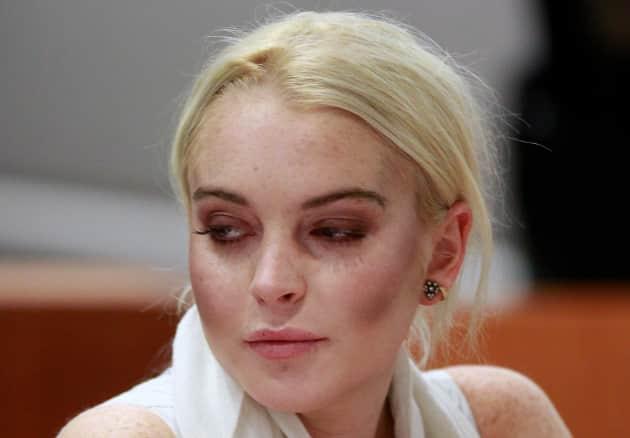 Lindsay Lohan, Train Wreck