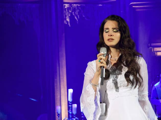 Lana Del Rey On Stage