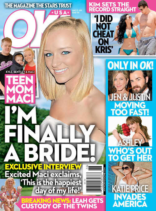 Maci Bookout Getting Married?
