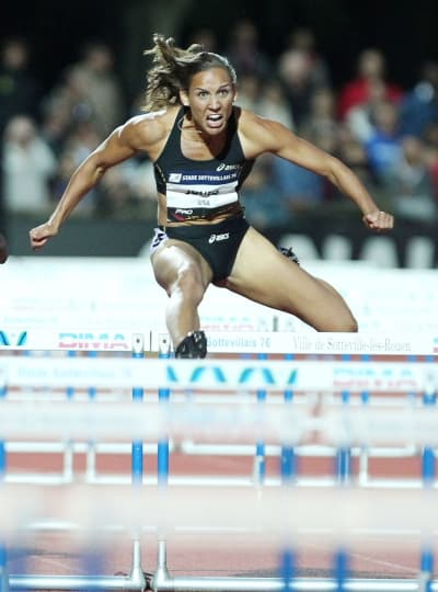 Lolo Jones in Action