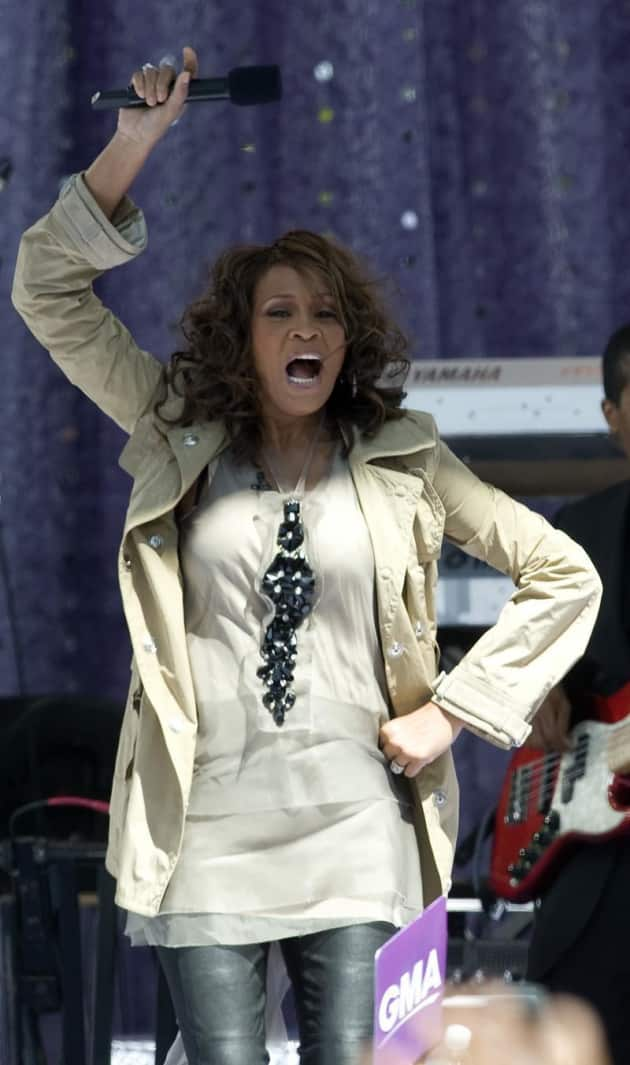 Whitney Houston Comeback